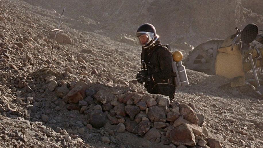 Robinson Crusoe On Mars DVD Review