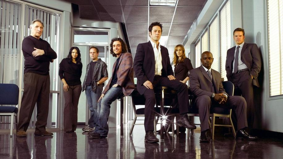 Numb3rs, The Complete First Season DVD Review