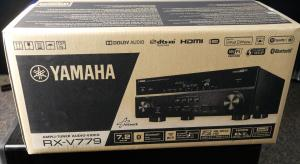 First Look and Unboxing of the Yamaha RX-V779 AV Receiver