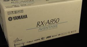 Unboxing and First Look at the Yamaha RX-A850 AV Receiver