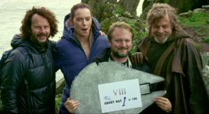 Lucasfilm release Star Wars: The Last Jedi BTS Video