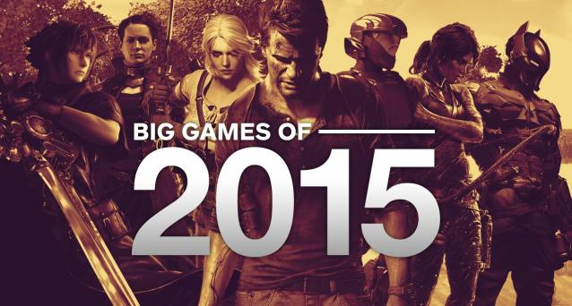 2015's Most Wanted Games