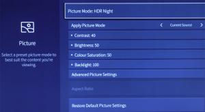 Hisense H65NU8700 Best TV Picture Settings