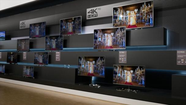 VIDEO: Panasonic EX780, EX750, EX700 and EX600 4K LED TVs