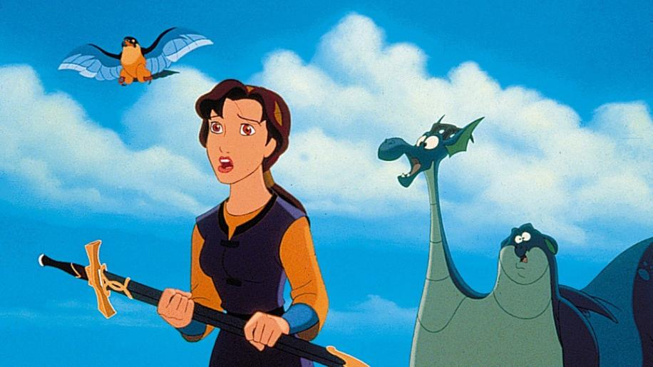 The Magic Sword: Quest For Camelot DVD Review