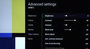 Sony KD-65XE9005 Best TV Picture Settings