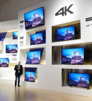 VIDEO: Panasonic 2015 4K Ultra HD UK TVs Launched - in 4K