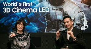 Samsung introduce world's first 3D Cinema LED screen at ISE 2018