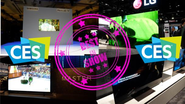 CES VIDEO: The Best TVs of CES Round-up