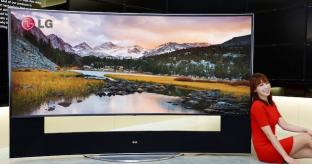 LG and Samsung to launch 105-inch curved 21:9 LED TVs at CES
