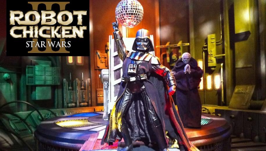 Robot chicken star wars episode iii dvd review avforums - Robot blanc star wars ...