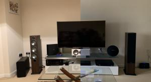 What's the consensus on speaker grilles: on or off?