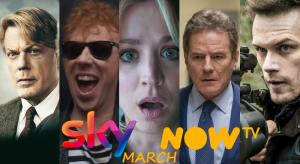 What's new on Sky and NOW TV UK for March 2021