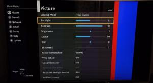 Panasonic TX-58DX700 Best TV Picture Settings