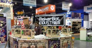 CES 2014: MakerBot shows off 3D Printing Prowess