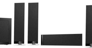 KEF T 305 5.1 Surround Sound Loudspeaker Package
