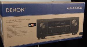 Unboxing and First Look at the Denon AVR-X3200W AV Receiver