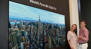 LG introduces first 8K OLED TV