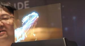 Micro LED displays demoed in flexible and transparent formats