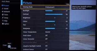 VIDEO: Panasonic TX-50CX802B 4K TV Picture Settings