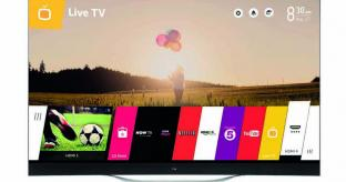 LG launches World's First Curved Ultra HD 4K OLED TV in the UK