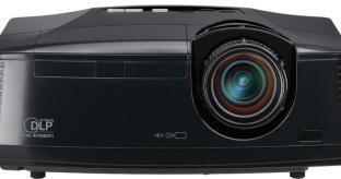 Mitsubishi HC3800 DLP Projector Review