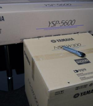 Unboxing & First Look at the Yamaha YSP-5600 Soundbar