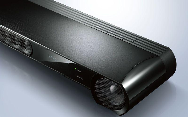 yamaha ysp 3300 soundbar with wireless active subwoofer. Black Bedroom Furniture Sets. Home Design Ideas