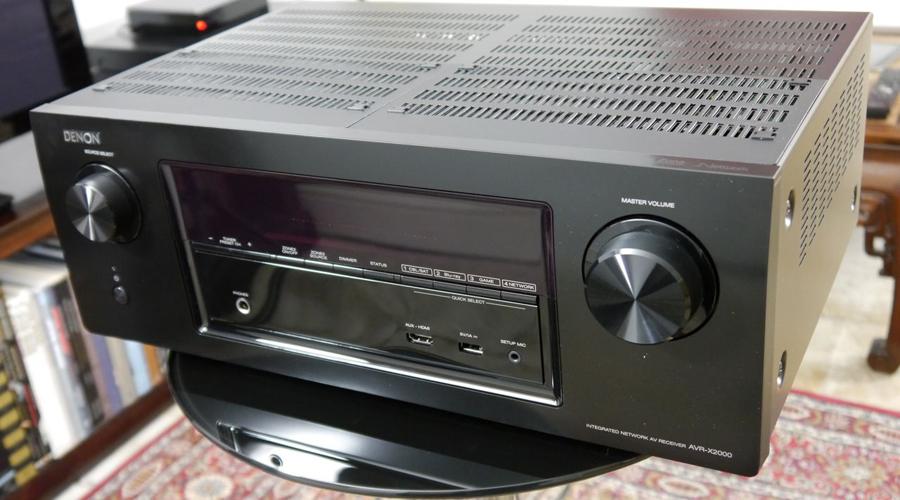 Denon AVR-X2000 AV Receiver Review