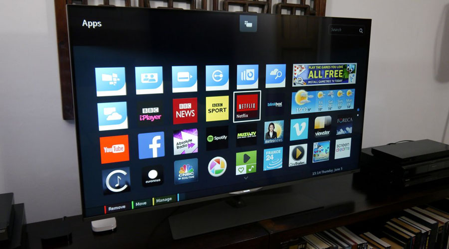 philips 55pus7809 4k tv review avforums. Black Bedroom Furniture Sets. Home Design Ideas