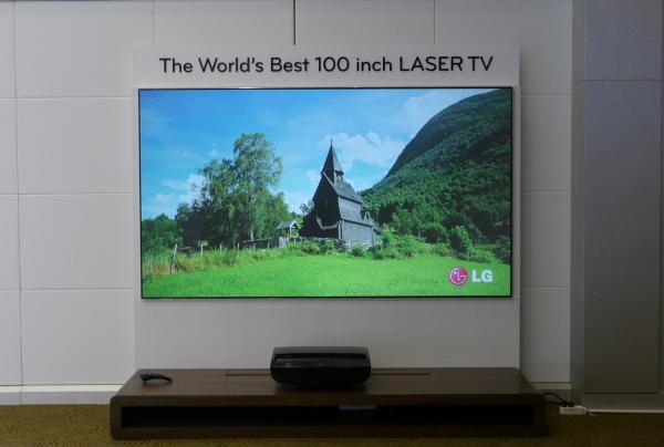tv 100 inch. they are also hoping the 100 inch laser tv will make it to uk market in 2013. depend on retailers taking model on, but lg seemed confident tv