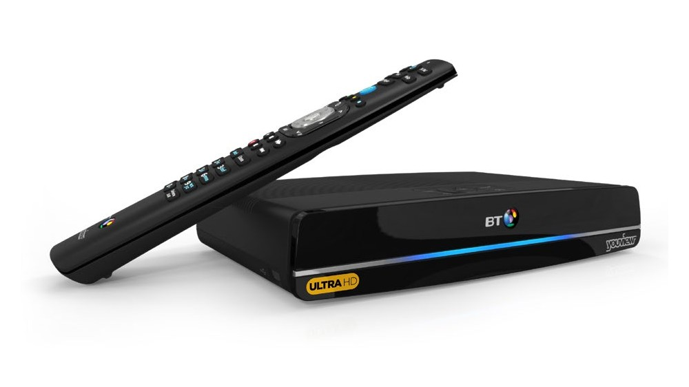 BT Ultra HD YouView Box Personal Video Recorder Review