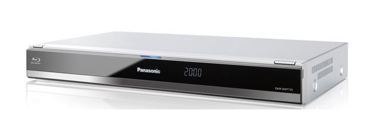 panasonic dmr bwt735eb 3d blu ray freeview hd recorder review avforums. Black Bedroom Furniture Sets. Home Design Ideas