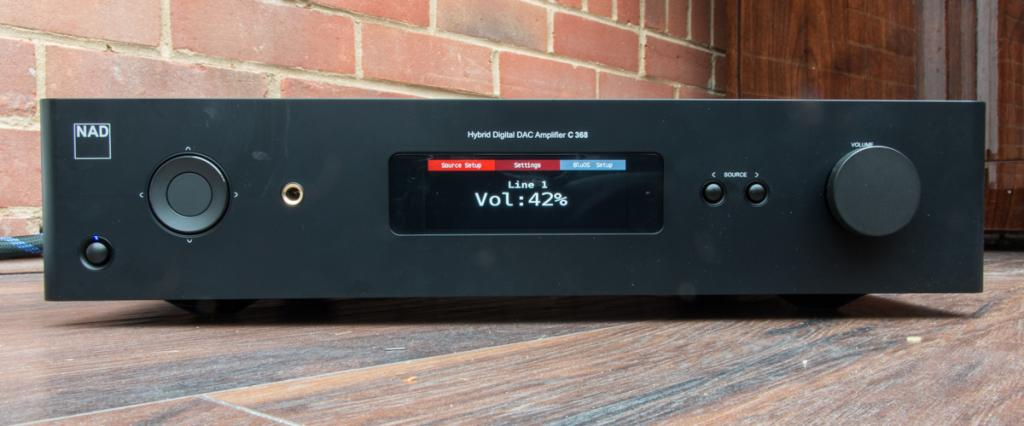 NAD C 368 Stereo Amplifier Review