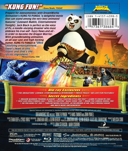 Kung Fu Panda Blu-ray Review   AVForums