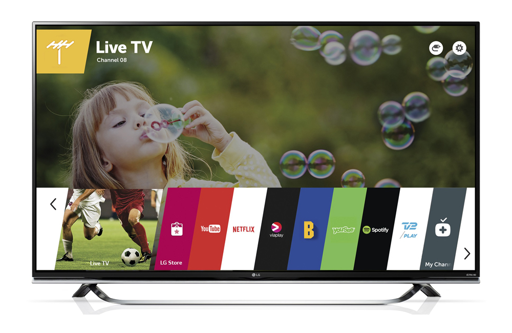 LG 65UF850V LED LCD TV Review
