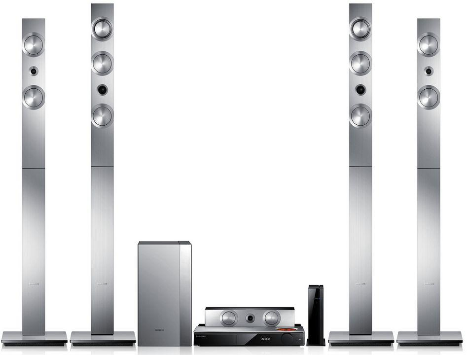 Samsung D Blu Ray Home Theater   System Ht F