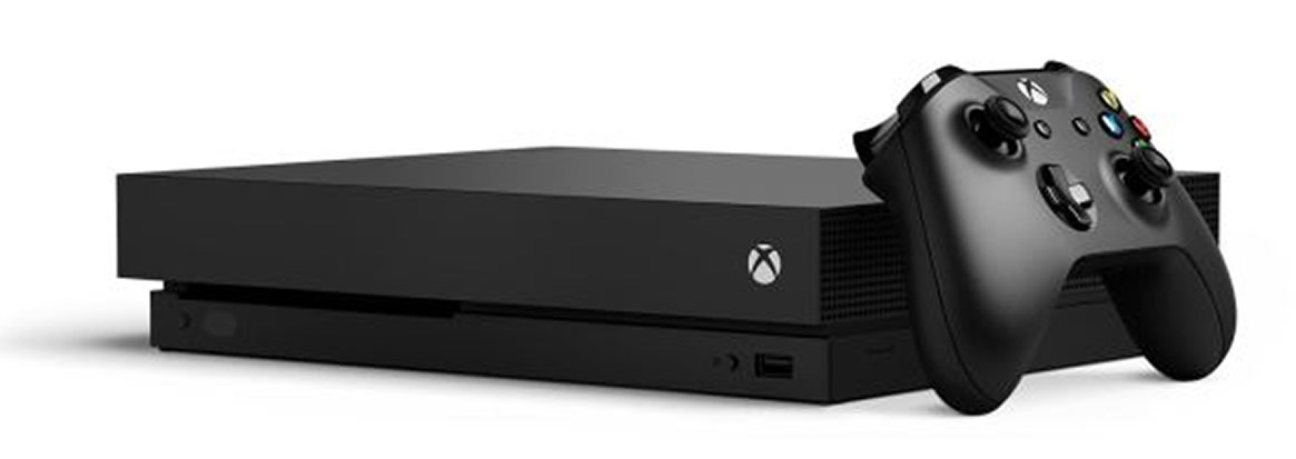 Microsoft Xbox One X Games Console Review
