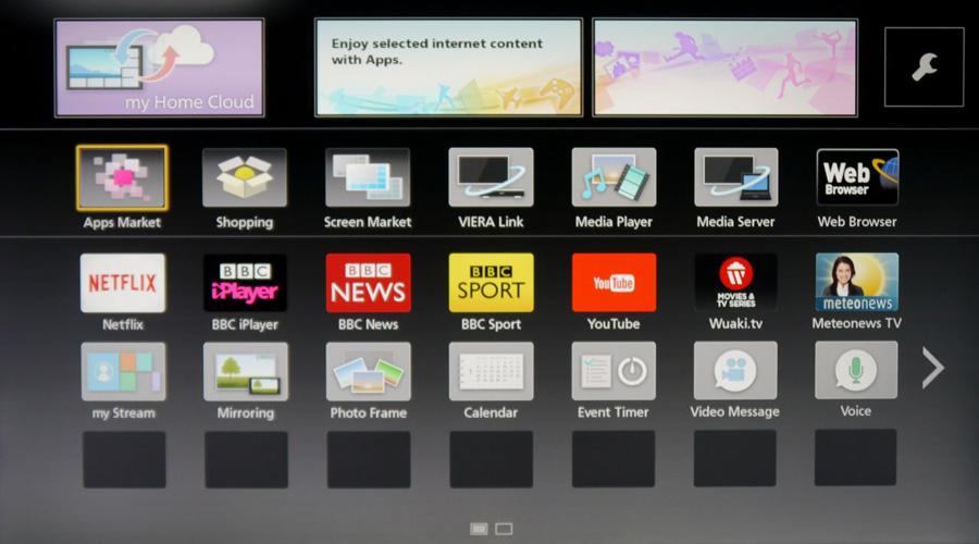 panasonic smart tv system 2014 review avforums. Black Bedroom Furniture Sets. Home Design Ideas