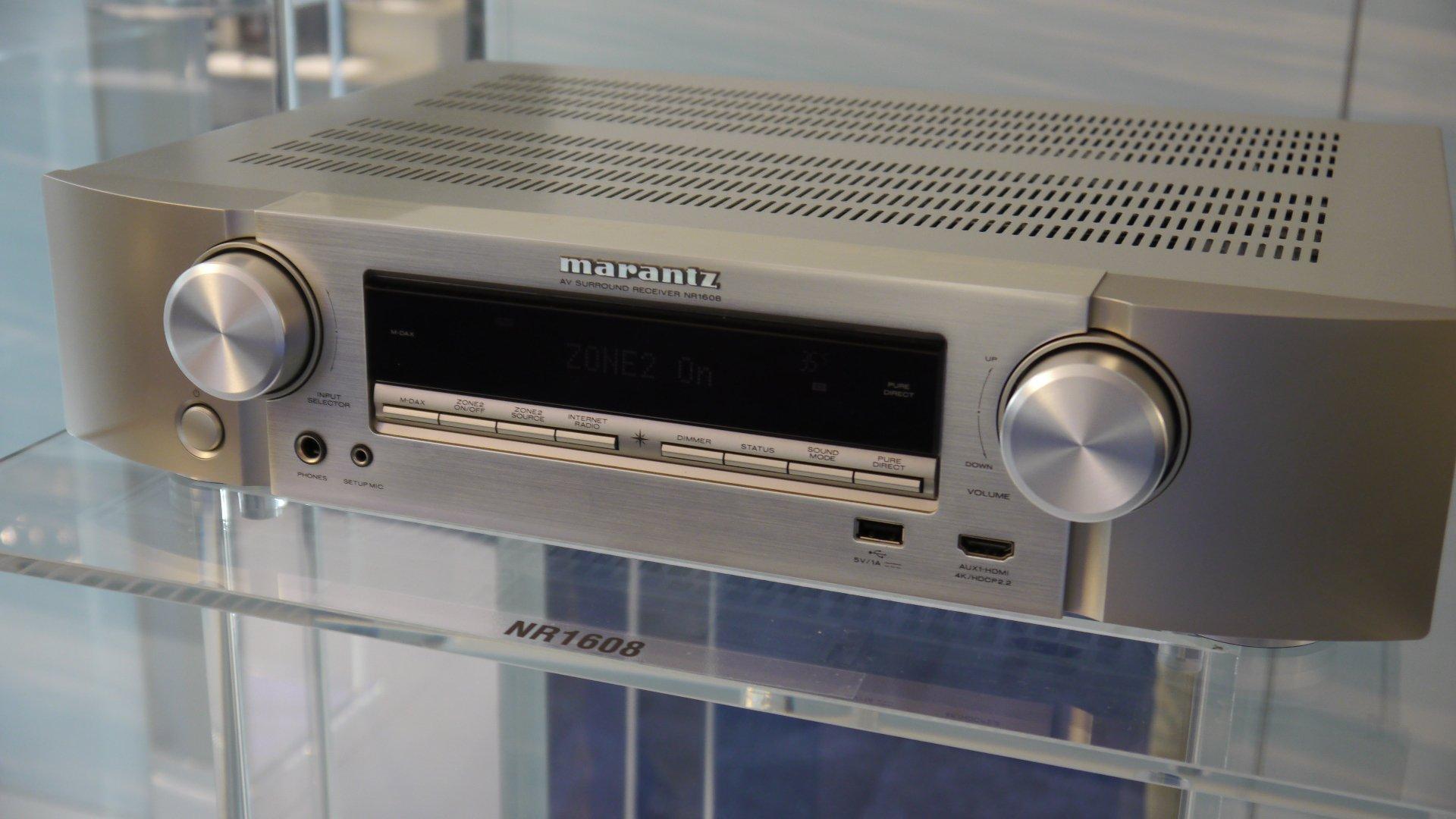 Marantz NR1608 AV Receiver Review