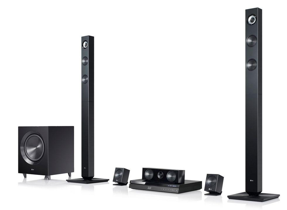 lg bh7420p 3d blu ray player and 5 1 home cinema system. Black Bedroom Furniture Sets. Home Design Ideas