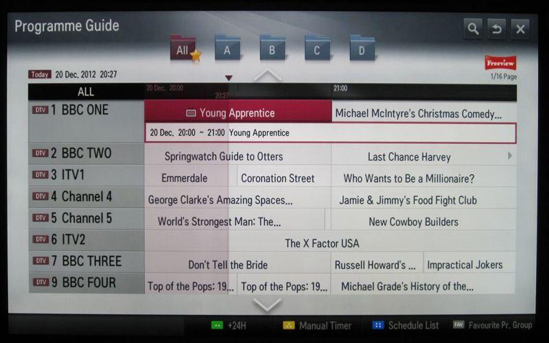 LG Smart TV System 2012 Review | AVForums