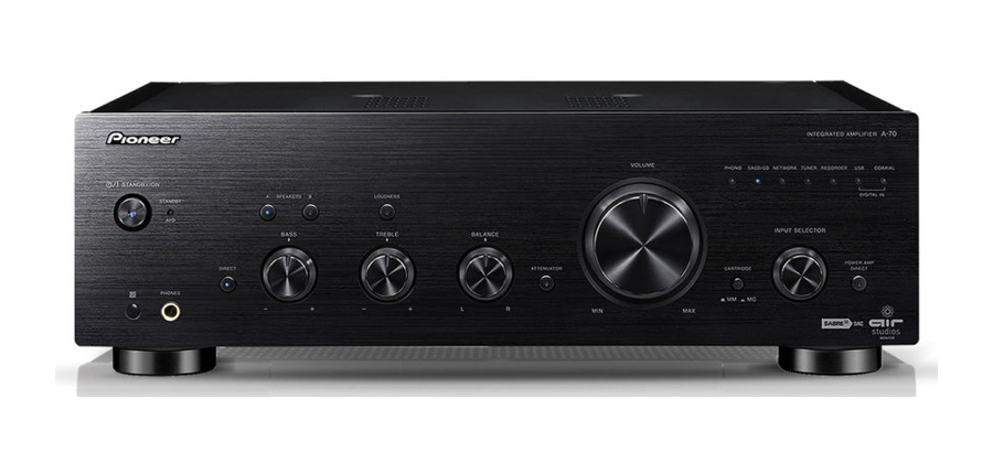 Pioneer A-70 Integrated Stereo Amplifier Review