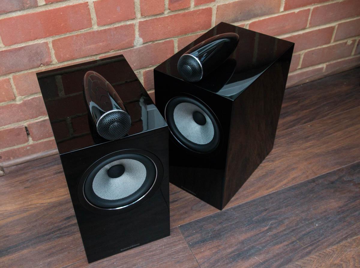 white bookshelf speaker b bowers eng speakers wilkins and stand black ash w