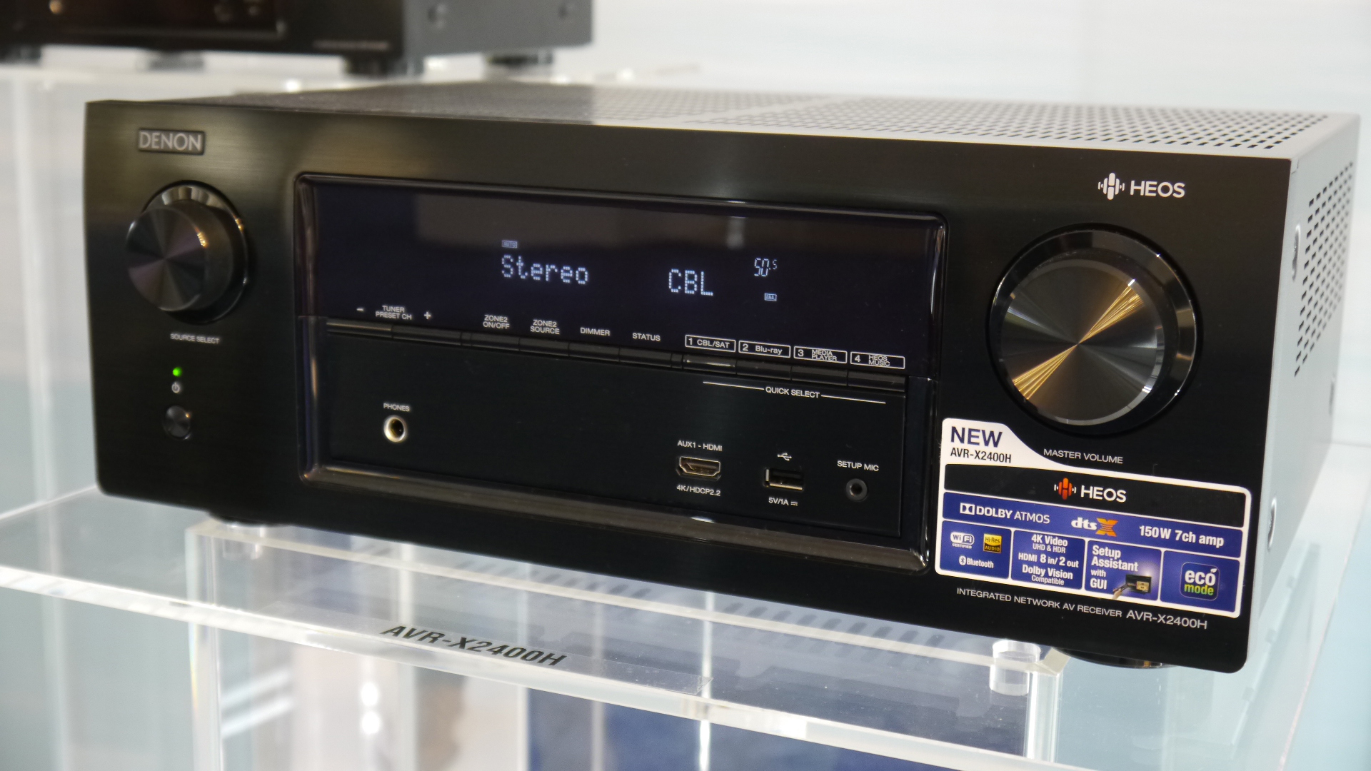 Denon AVR-X2400H AV Receiver Review